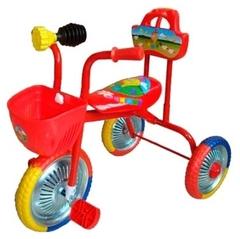 Велосипед 3-х колесный без ручки Чижик T004 с клаксоном