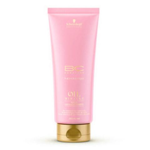 Шампунь-блеск для кожи головы и волос Золотое сияние Schwarzkopf Bonacure Oil Miracle Rose Oil Hair&Scalp Shampoo