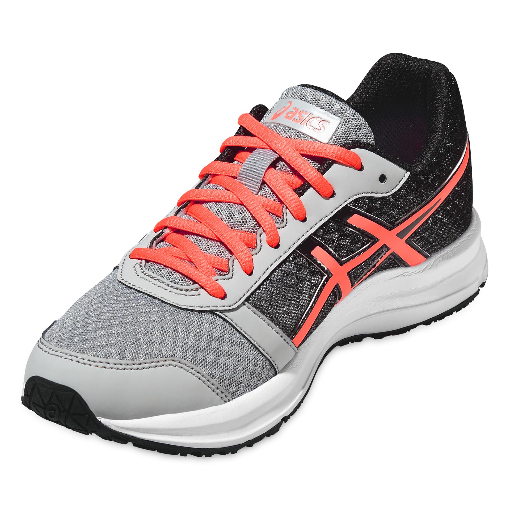 Женская беговая обувь Asics Patriot 8 (T669N 9606) серая фото