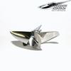 CNC propeller Z441/ 3 blades Traxxas Spartan stainless steel