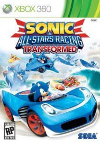 Xbox 360 Sonic & All-Stars Racing Transformed (Xbox 360 - Xbox One, английская версия)