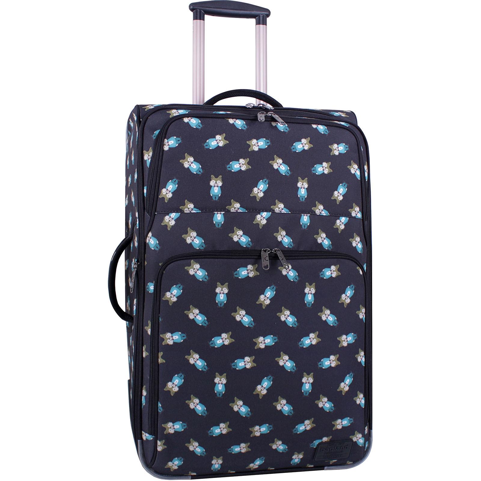 Дорожные чемоданы Чемодан Bagland Леон большой дизайн 70 л. сублимация (бурундуки) (0037666274) IMG_3523_суб.61_.JPG