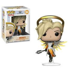 Funko Pop Games: Overwatch-Mercy, Multicolor