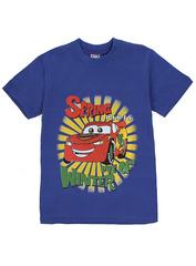 1178-3 футболка детская, синяя