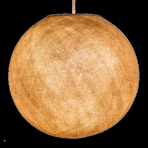Хлопковый шар - подвес Коричневый