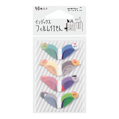 Midori Index Film Fusen (Tori-gara)