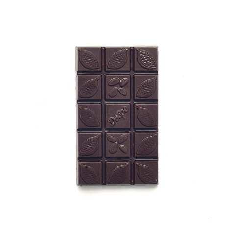 Детский шоколад молочный, 54% какао на меду с вишней, 50 гр.