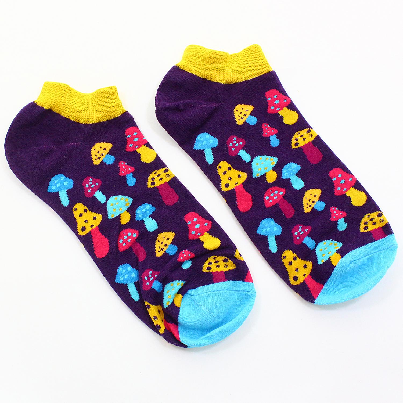 Короткие носки Р. 37-44 Грибочки