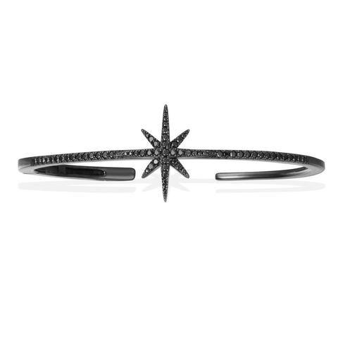 Браслет METEORITES noir из серебра с черным родием