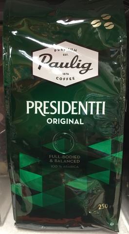 Кофе Paulig Presidentti original 250 гр