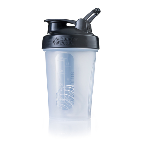 BlenderBottle® Classic Clear Black