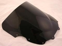Ветровое стекло для мотоцикла Kawasaki ZZR 400/600 90-92 DoubleBubble Черное
