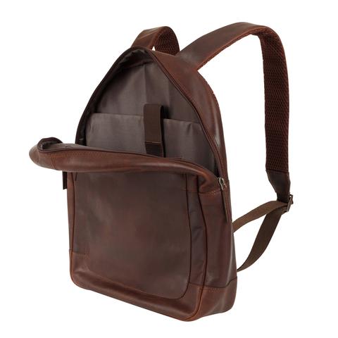 Кожаный рюкзак Klondike 1896 DIGGER «Sade» Brown, Germany, фото 5