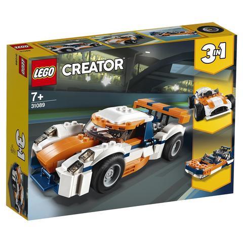 LEGO Creator: Гоночный автомобиль Оранжевый 31089 — Sunset Track Racer — Лего Креатор Создатель