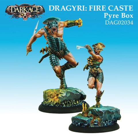Dragyri Fire Caste Pyre Unit Box