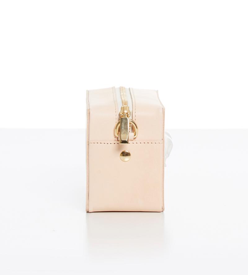 Прямоугольная сумка из кожи Panther Natural от ANDRES GALLARDO