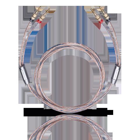 Oehlbach TwinMix One speakercable 2x2mm banana connector 2m, кабель акустический (#10716)
