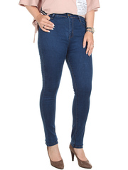 2108 джинсы женские, синие