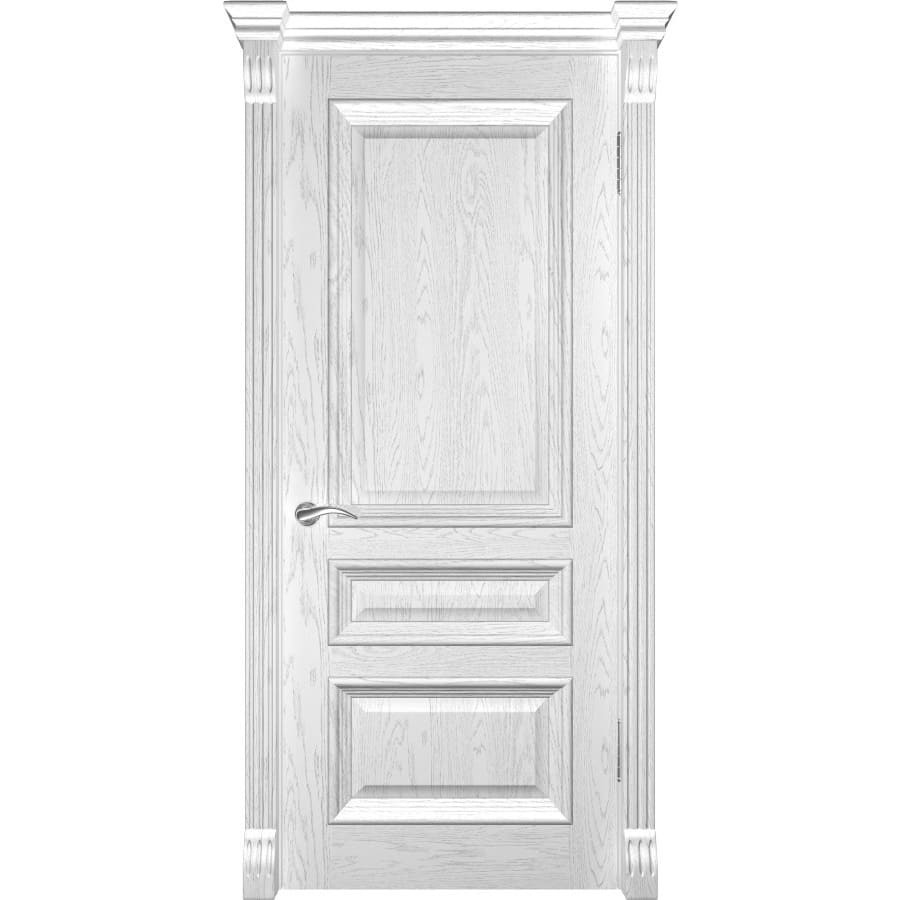 Межкомнатные двери Фараон 2 дуб белая эмаль без стекла faraon-2-dg-dub-beliy-dvertsov.jpg