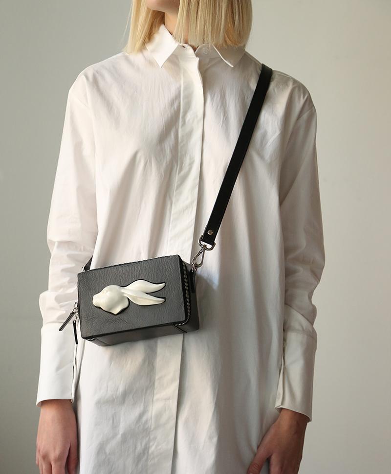 Прямоугольная сумка Rabbit Vegetable Black