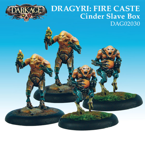 Dragyri Fire Caste Cinder Slaves Unit Box