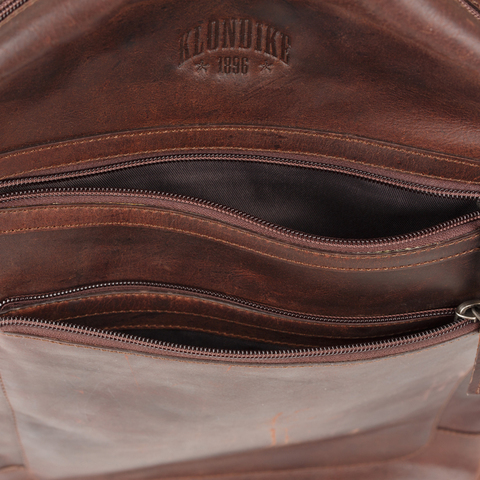 Кожаный рюкзак Klondike 1896 DIGGER «Sade» Brown, Germany, фото 6