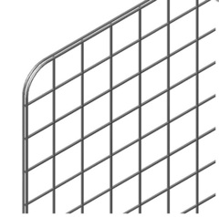 GP7-980х980 (ячейка 70х70) Панель-сетка 980х980мм  хром