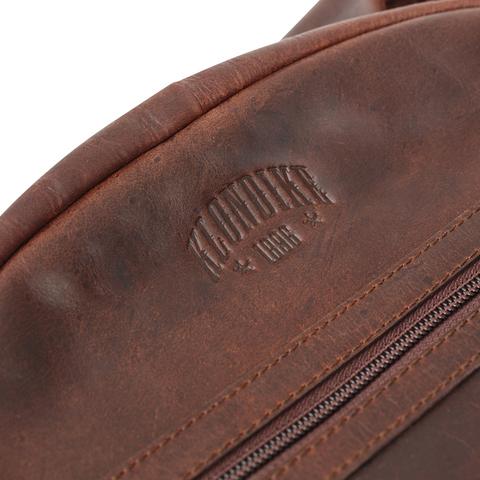 Кожаный рюкзак Klondike 1896 DIGGER «Sade» Brown, Germany, фото 7