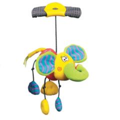 Playgro Мягкая игрушка-погремушка Дингли-Дангли Слон (0111868-2)