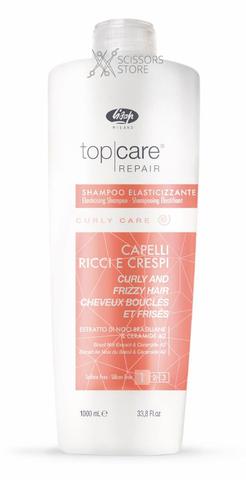 Тор Care Repair Elasticising Shampoo Curly and Frizzy Hair | Разглаживающий шампунь для вьющихся и непослушных волос 1000 мл