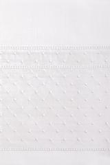 Постельное белье 1.5 спальное Bovi Venice белое
