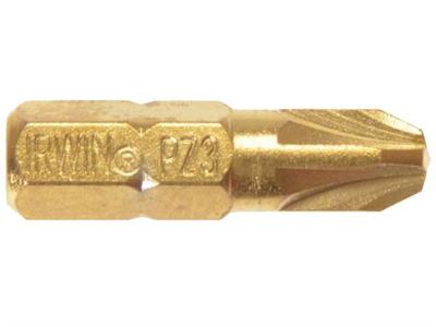 Отвёрточная вставка Pz3 TiN  25мм 10шт Irwin 10504343