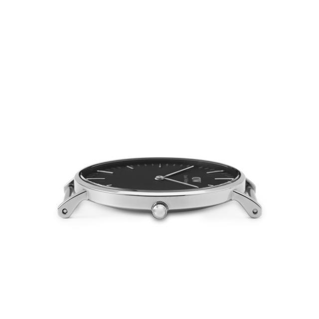 Корпус мужских часов Daniel Wellington Classic Black Reading Silver DW00100135