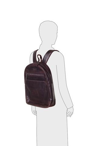 Кожаный рюкзак Klondike 1896 DIGGER «Sade» Brown, Germany, фото 8