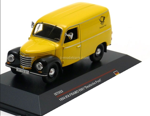 Atlas 1:43 aro 10-light Yellow