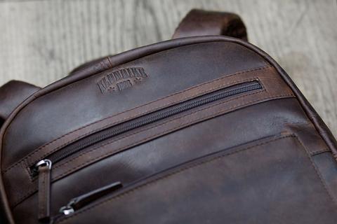 Кожаный рюкзак Klondike 1896 DIGGER «Sade» Brown, Germany, фото 9