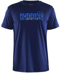 Футболка беговая мужская Craft Prime Run Logo Blue