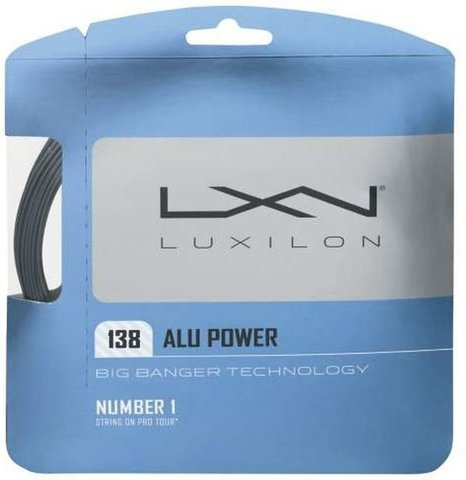 Струны теннисные Luxilon Big Banger Alu Power 138 12.2M / WRZ998900