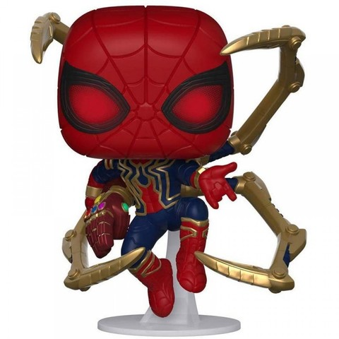 Фигурка Funko POP! Bobble: Marvel: Avengers Endgame: Iron Spider w/NanoGauntlet 45138