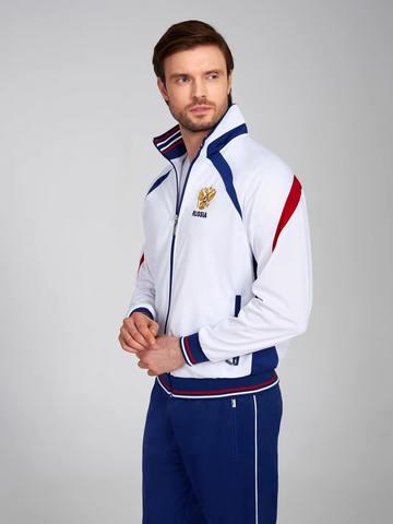 Спортивный костюм Россия 10M-00-335/1 белый