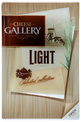 "Сыр ""Cheese Gallery""Легкий нарезка 20% 150 гр"