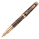 Parker Premier Luxury F565 Brown PGT перо золото 18Ct F (1876376)