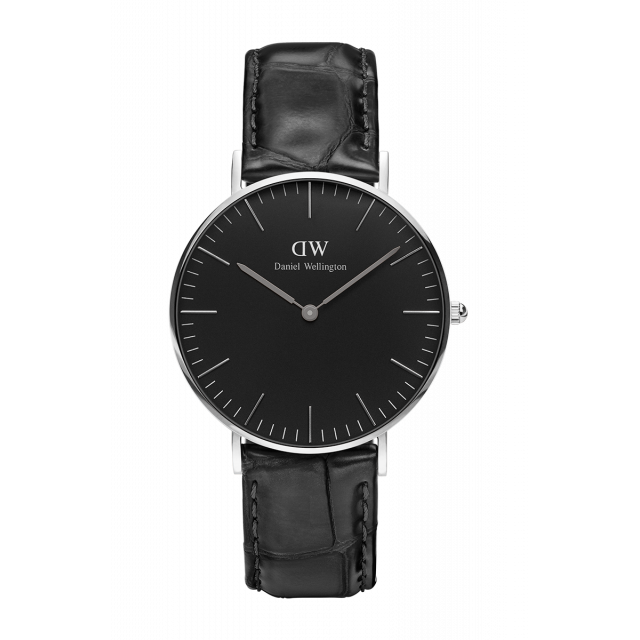 Мужские часы Daniel Wellington Classic Black Reading Silver DW00100135