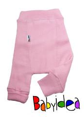 Пеленальные штанишки короткие Babyidea Wool Shorties, Нежно-розовый (шерсть мериноса 100%)