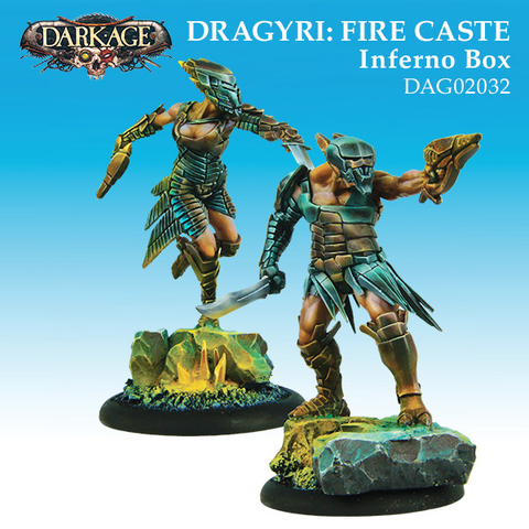 Dragyri Fire Caste Inferno Unit Box