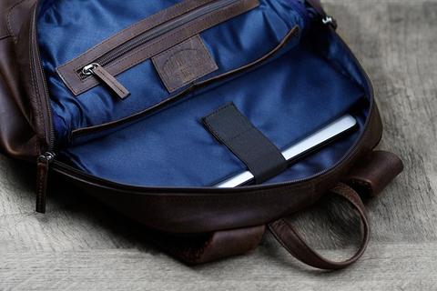 Кожаный рюкзак Klondike 1896 DIGGER «Sade» Brown, Germany, фото 12