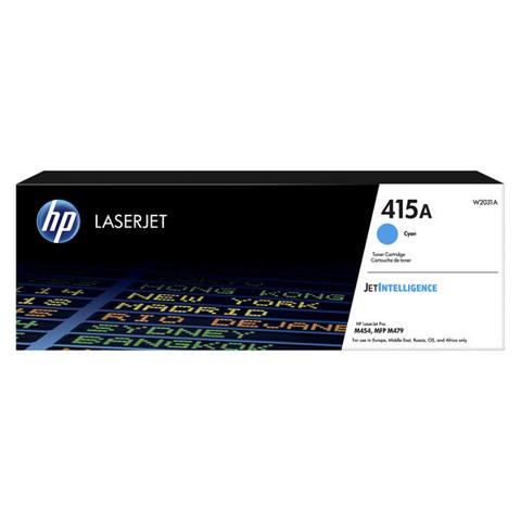 Kартридж голубой 415A для HP LaserJet M454, MFP M479 (2.1K)