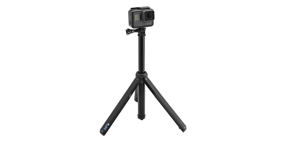 Телескопический монопод-штатив GoPro MAX Grip Tripod (ASBHM-002) штатив минимальная длина