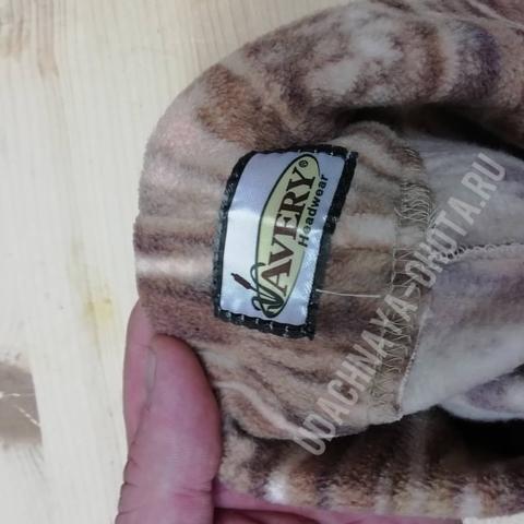 Тонкая шапка из очень мягкого флиса GHG