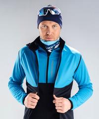Лыжный жилет Nordski Premium Light Blue-Black 2020
